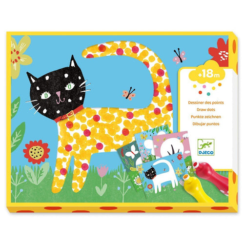 Small Dot Painting Craft Kit Toys Djeco Toys