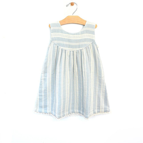 Stripe Lace Dress Dresses City Mouse 2T
