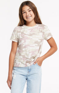 Teagan Camo Crew - Pitter Patter