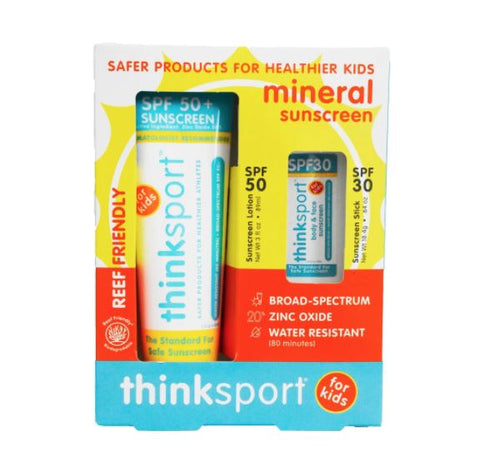 Thinksport Sunscreen Combo Pack - Pitter Patter
