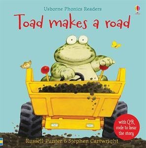 Toad Makes a Road - Pitter Patter