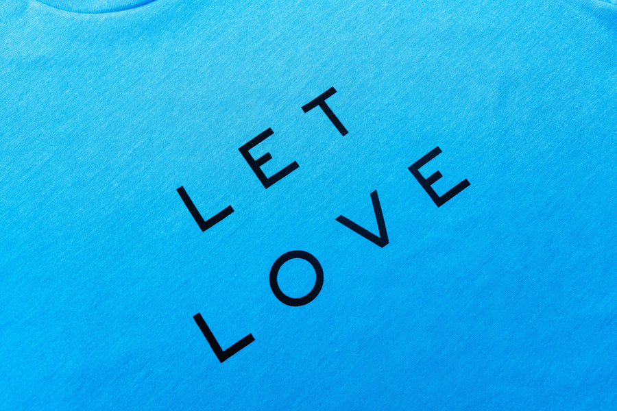 Let Love in Blue