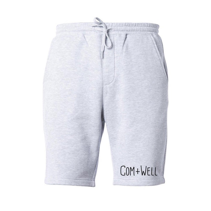 COM+WELL Cuff Script Logo Sweat Shorts