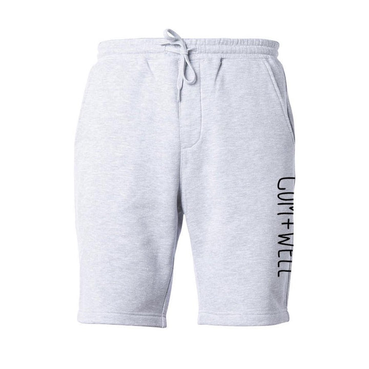 COM+WELL Side Script Logo Sweat Shorts