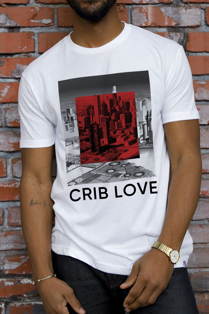 Crib Love White T-Shirt
