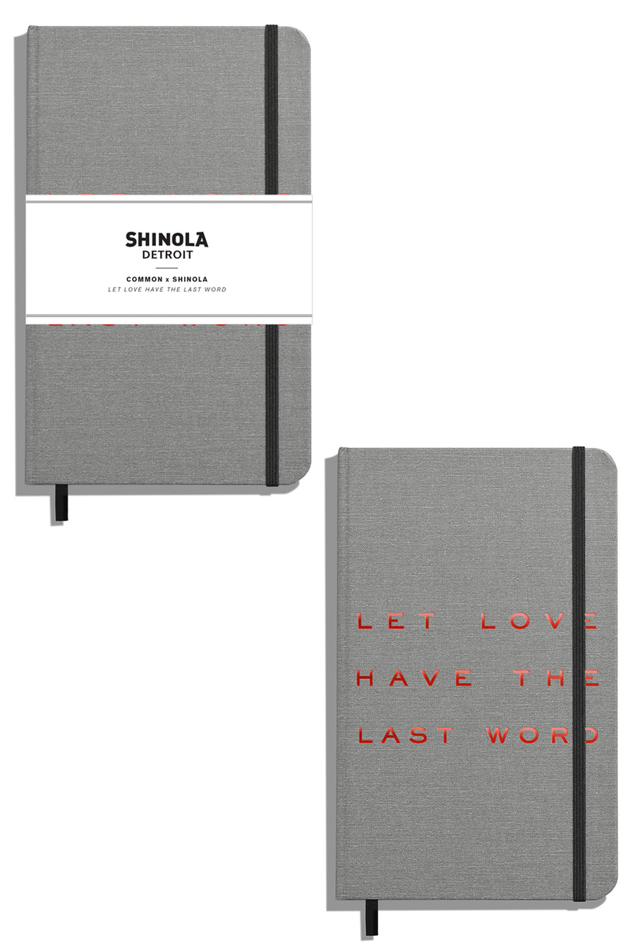 Shinola Let Love Have the Last Word Grey Journal