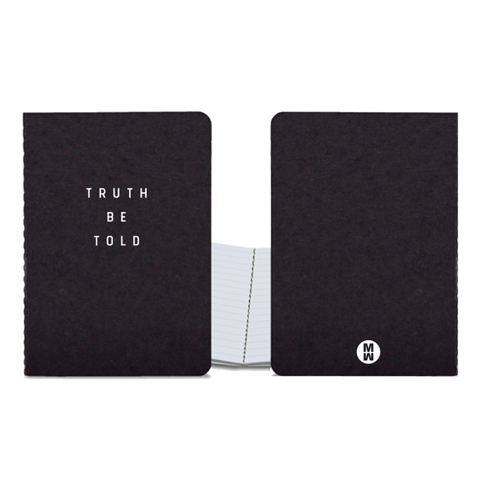 Truth Be Told Journal Autographed