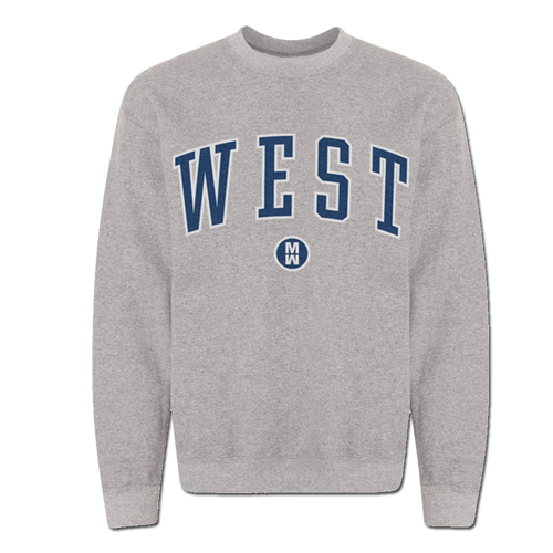 WEST Crew Neck Sweatshirt