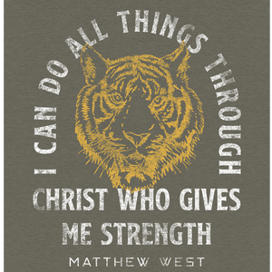 Strong Enough Tiger Tee
