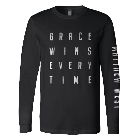 Grace Wins Long Sleeve Tee