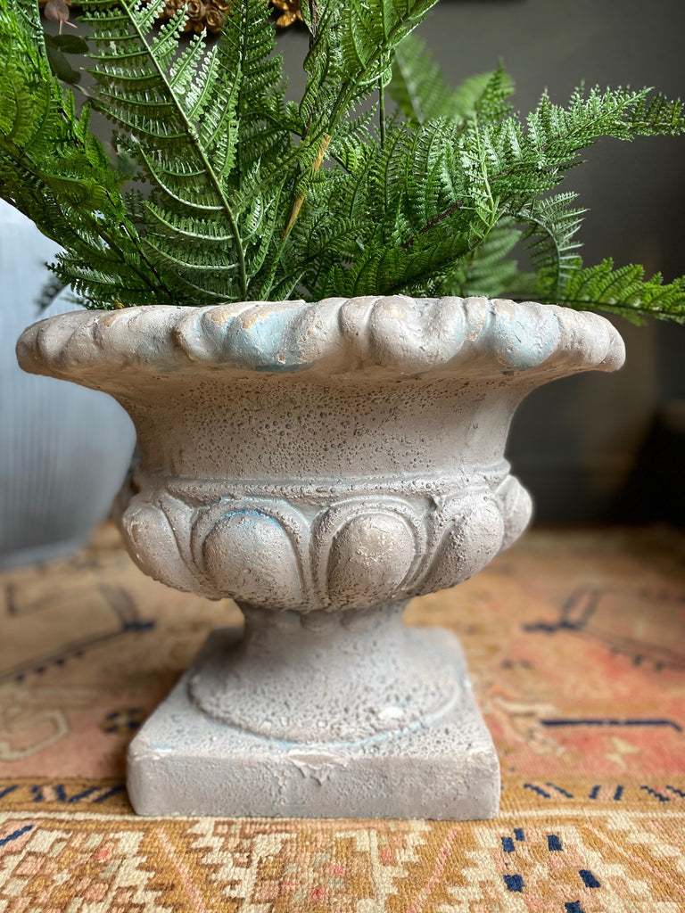 Distressed Large Urn