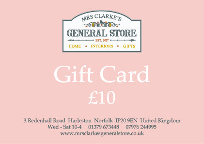 Mrs Clarke's General Store Gift Card
