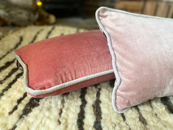 Rose Velvet Cushion