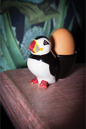 Ceramic Puffin Egg Cup