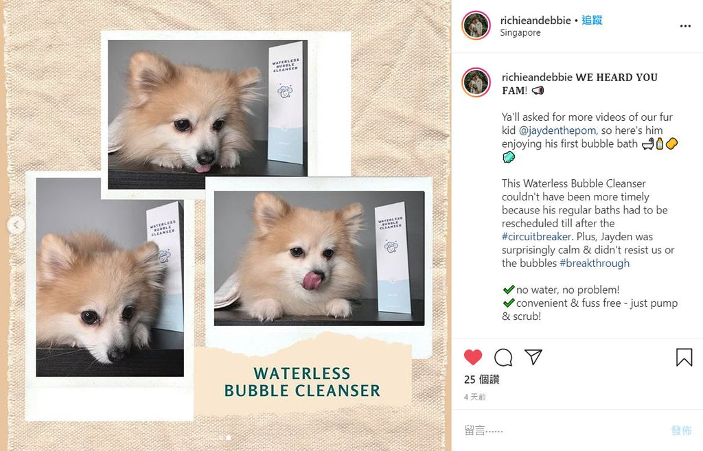 No water, no problem! arrr Waterless Bubble Cleanser | Review by richieandebbie