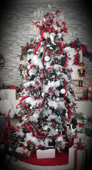 Scarlett Night Christmas Tree Kit Series 1000