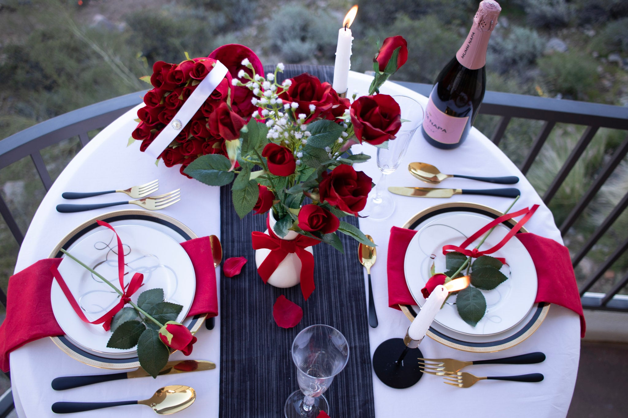 Cupid Collection Tablescape Series ID300