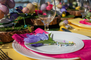 Hop into the Garden of Spring Tablescape FULL collection