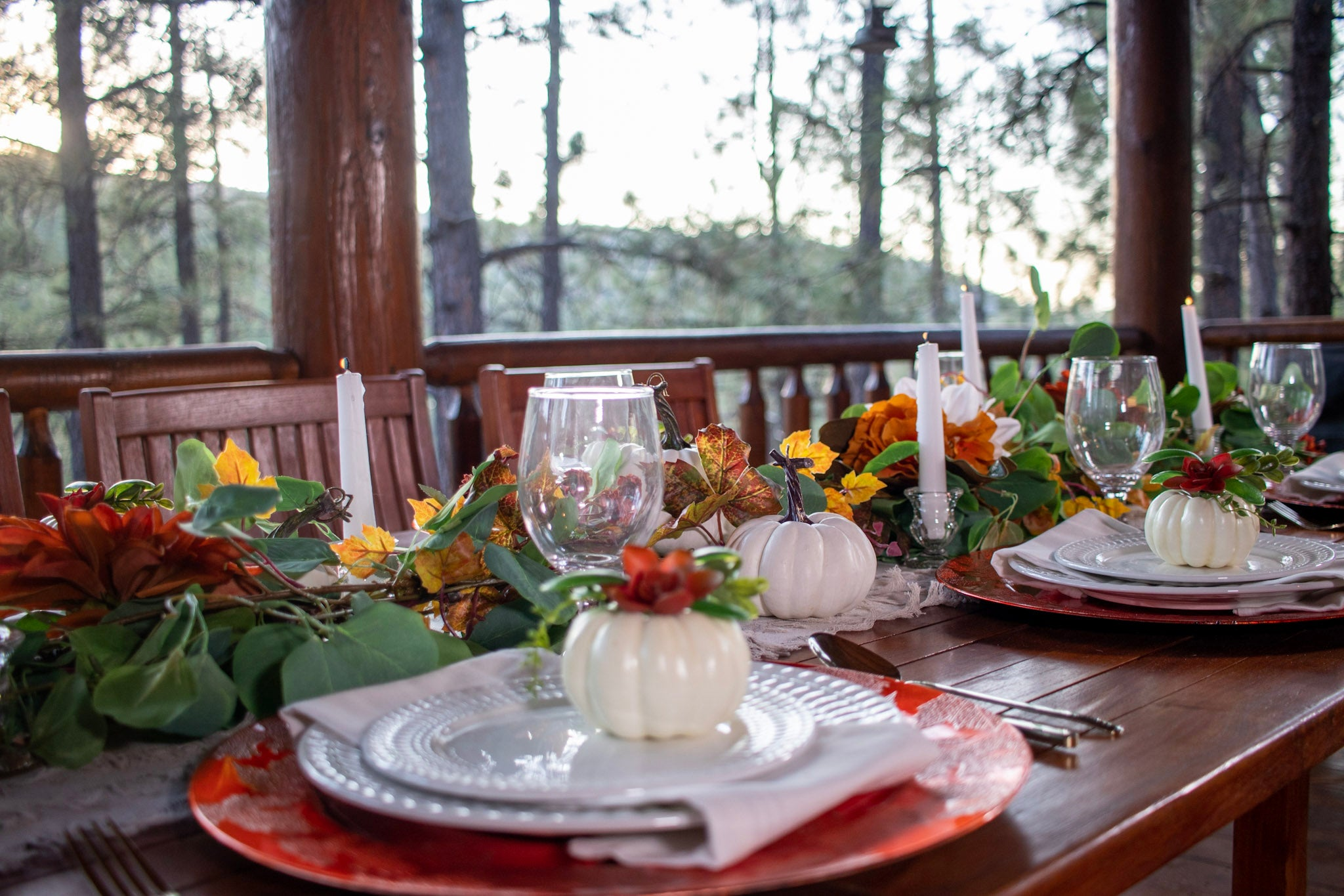 Autumn Harvest Fall Tablescape Set Series 100