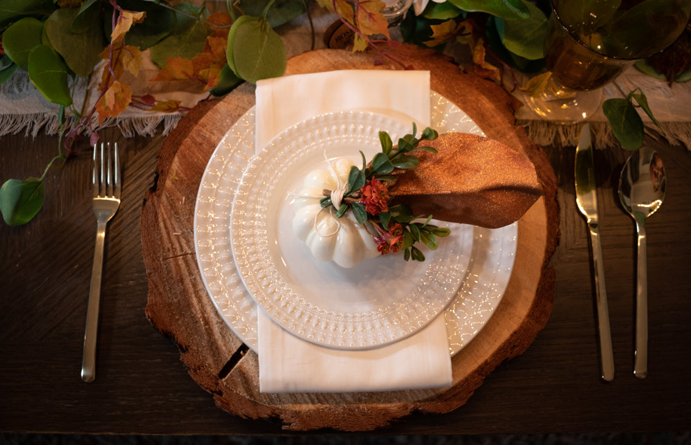 Peace of Mind Fall Tablescape Set- Series 200