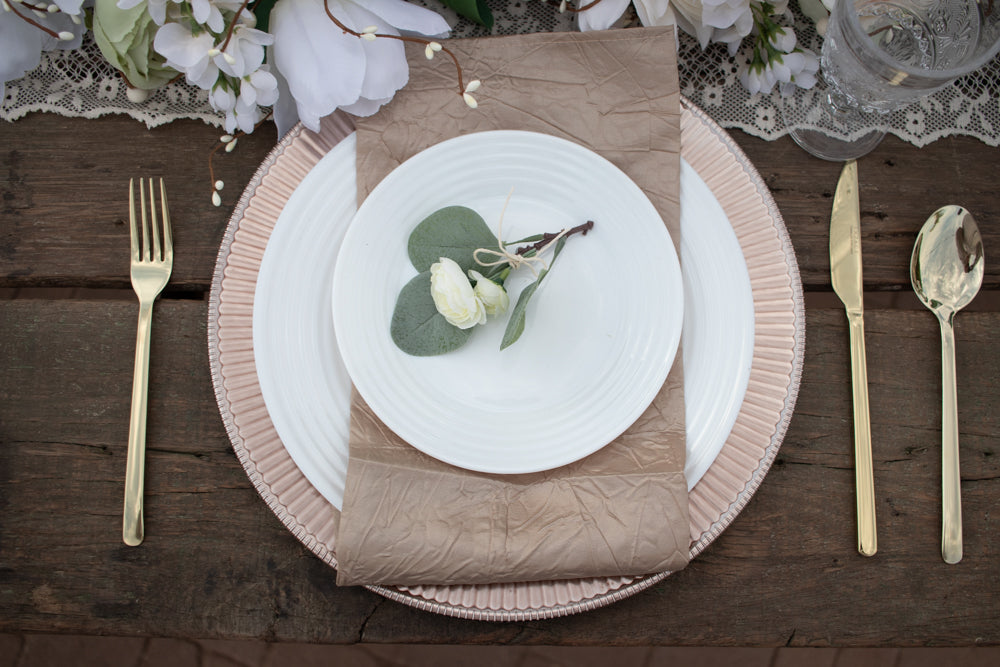 Enchanted Wedding 8 Plate Seating Tablescape Kit Series 300