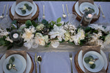 Peace & Love Wedding 8 Plate Seating Tablescape Kit Series 400