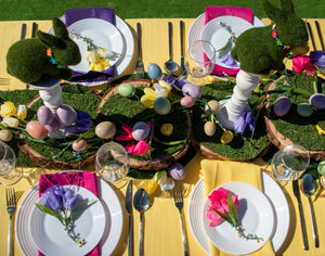Tulip & Berry Plate Setting Tablescape Set. Series 3