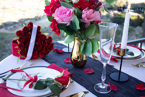 Heart of Gold Collection Tablescape Series ID100