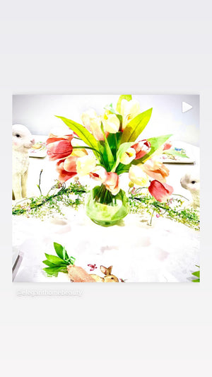 Simply Elegant Easter Tablescape  Collection