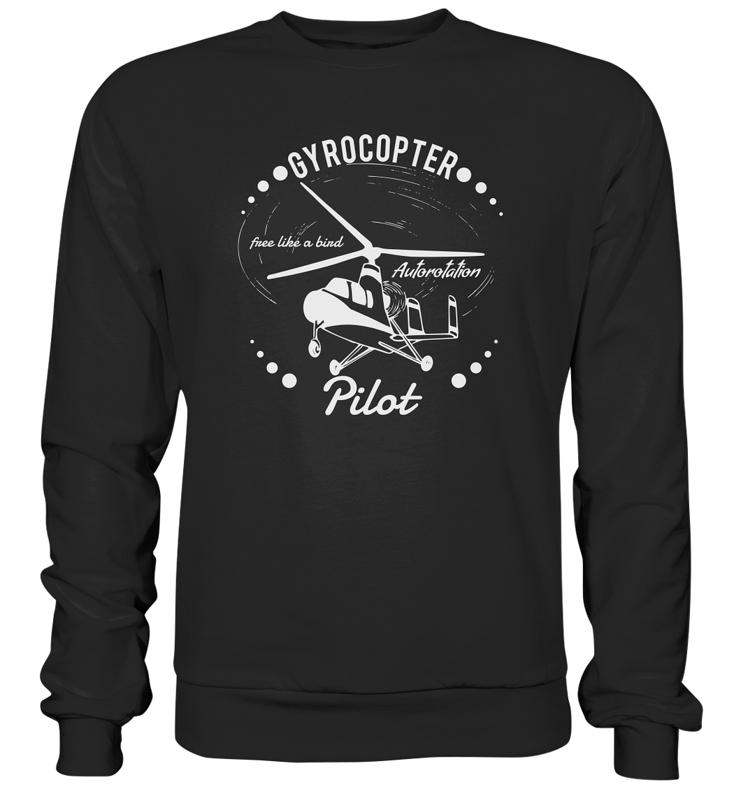 GYROCOPTER PILOT  - Basic Sweatshirt