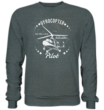 Laden Sie das Bild in den Galerie-Viewer, GYROCOPTER PILOT  - Basic Sweatshirt