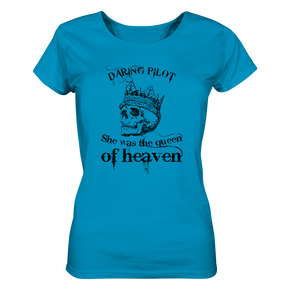 Queen of heaven-Ladies Organic Shirt - myaviationshirt