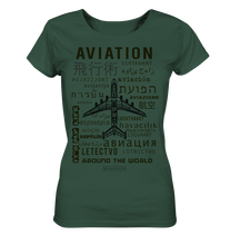 Laden Sie das Bild in den Galerie-Viewer, AVIATION around the world-Ladies Shirt - myaviationshirt