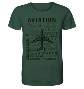 AVIATION around the world-Mens Shirt - myaviationshirt