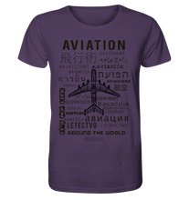 Laden Sie das Bild in den Galerie-Viewer, AVIATION around the world-Mens Shirt - myaviationshirt