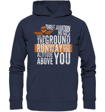 Laden Sie das Bild in den Galerie-Viewer, THREE AVIATION NO GO'S - Premium Unisex Hoodie