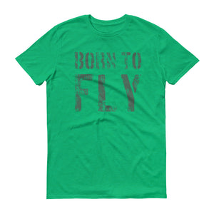 BORN TO FLY - Piloten T-Shirt