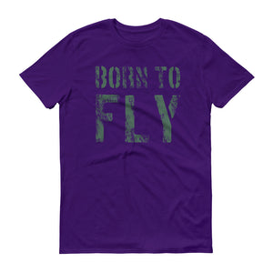 Born to fly - Piloten T Shirt
