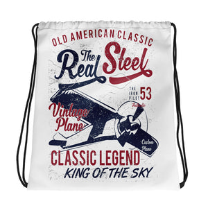 Drawstring Bag Real Steel