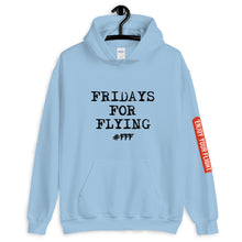 Laden Sie das Bild in den Galerie-Viewer, FRIDAYS FOR FLYING Hoodie unisex