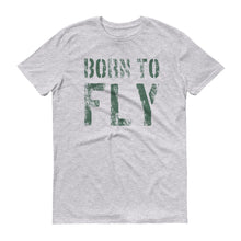 Laden Sie das Bild in den Galerie-Viewer, Born to fly - Piloten T Shirt