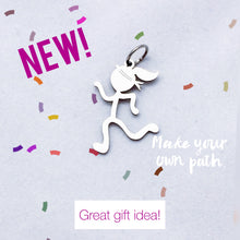 Peace Girl Runner Charm - NEW!