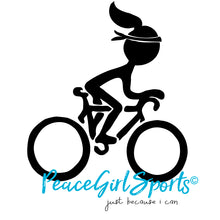 Peace Girl Road Biker
