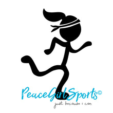 Peace Girl Runner