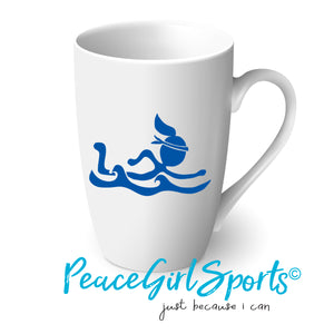 Peace Girl Swimmer