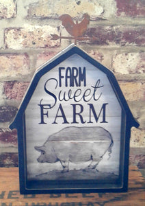 Farm Sweet Farm Barn Decor