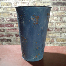 Load image into Gallery viewer, Metal Blue Vase