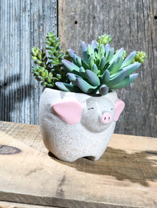 Farm Animal Plant Pot