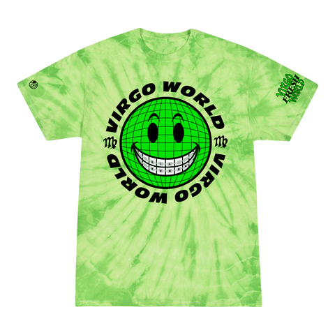 Virgo World Smiley T-Shirt + Digital Album