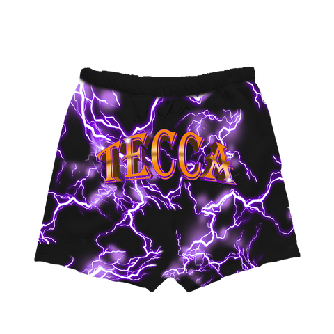 Tecca Lightning Shorts Purple + Digital Mixtape
